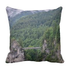#BRIDGE IN GERMANY PILLOW - #travel #trip #journey #tour #voyage #vacationtrip #vaction #traveling #travelling #gifts #giftideas #idea