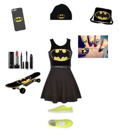 """""""Batman"""" by oompaloompa366789 on Polyvore featuring New Look, Australian, Marc Jacobs and Chanel"""
