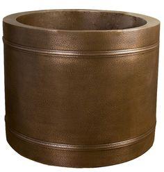Copper Bathtub COTRNDN43-AC