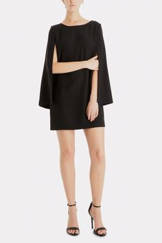 BB DAKOTA Gretchen Cape Dress | Keaton Row