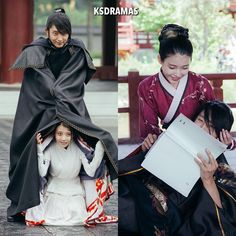 Cuuuute and fun on the set of Moon Lovers: Scarlet Heart Ryeo