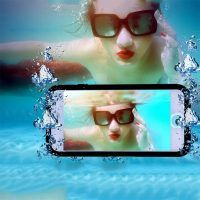 Waterproof Phone Cases For iPhone 7 6 Plus 5 SE Ultra Thin Shockproof Hybrid Rubber Cover Iphone 5s Covers, Iphone Cases, Iphone 7 Plus, Iphone 6, Waterproof Iphone Case, Phone Photography, Iphone Models, Samsung Cases, 6s Plus