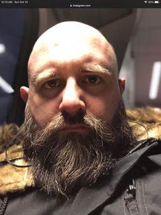 Bald With Beard, Bald Men, Beard Images, Beard Head, Beard Lover, Awesome Beards, Beard Styles, Facial Hair, Bearded Men