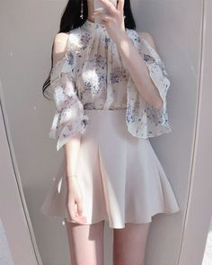 40 trendy clothes for korean fashion outfits gala fashion Teen Fashion Outfits, Girly Outfits, Mode Outfits, Pretty Outfits, Stylish Outfits, Dress Outfits, Fashion Dresses, Modest Fashion, Shirt Outfit