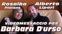 """Alberto Lipari """"VIDEOMESSAGGIO per BARBARA D'URSO"""""""