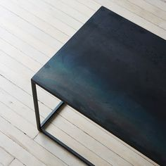 Blackened Steel Coffee Table                                                                                                                                                                                 More
