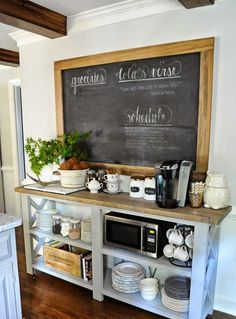 35 Creative Chalkboard Ideas For Kitchen Décor | DigsDigs