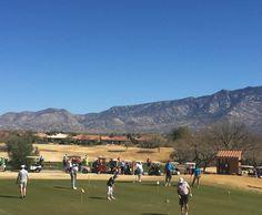 Driving range at The Views Golf Club at Oro Valley