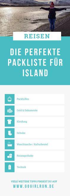 Du suchst eine Packliste für Deine Island-Reise und fragst Dich, was darfst Du nicht vergessen? Welches ist die richtige Kleidung für einen Roadtrip & Wanderungen. In meiner Checkliste zum Ausdrucken & Abhaken wirst Du fündig und findest Antworten. #reisen #reisetipps #island #packliste #anleitung #packen #islandreisen