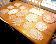 Vintage Crocheted Doilies