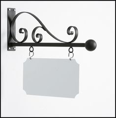 Attract people to your store or business with the stylish Torino Elite Hanging Blade Sign Bracket. Metal Furniture, Diy Furniture, Four Seasons Room, Retail Signs, Metal Yard Art, Amazing Transformations, Flower Stands, Rustic Lighting, Wood Plaques