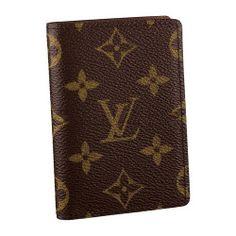 Louis Vuitton Monogram Canvas Pocket Organizer M61732 Aes