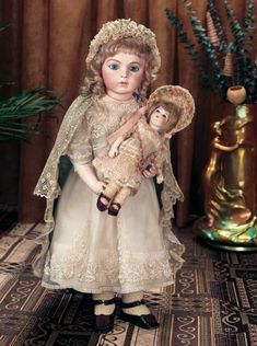 Dance of the Hours: 15 Very Beautiful French Bisque Bebe Bru Jne,Size 9,by Leon Casimir Bru