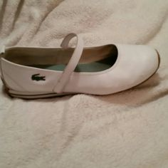 Lacoste sport shoes 9 guc WHITE Lacoste Shoes Flats & Loafers