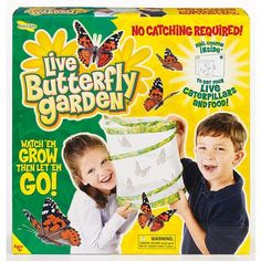 Getting for Easter 2016 - Live Butterfly Garden on www.amightygirl.com
