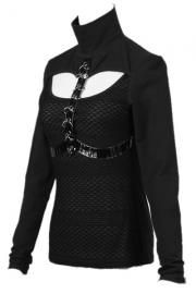 Moria Longsleeve Gothic Top by Punk Rave