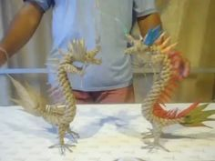 How to make chinese dragon with rope, part special