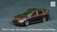 TOMICA 104C MITSUBISHI LANCER EVO4 #WHEELSWAP #LOWDOWN #CHAMELEON | v.38 | FIN Mitsubishi Lancer, Old Models, Chameleon, Diecast, Auction, Car, Automobile, Chameleons, Vehicles