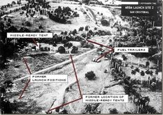 """The Cuban Missile Crisis began on Sunday October 14, 1962 when a United States Air Force U-2   aircraft on a photoreconnaissance mission captured photographic evidence of   Soviet missile bases under construction in Cuba.  The United States considered attacking Cuba via air and sea, and settled on a   military """"quarantine"""" of Cuba."""