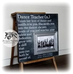 Amazing deal on dance teacher gifts photo frame Dance Team Gifts, Dance Teacher Gifts, Dance Teacher Quotes, Teacher Sayings, Cheer Coach Gifts, Cheer Gifts, Trauma, Coaching Personal, Team Quotes