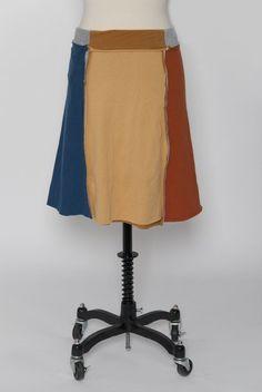 t-shirt skirt, fun fashionable project : )