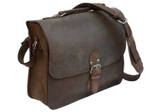 Leather Indiana Jones Bag Rich Chocolate Brown by RusticLeatherCo, $239.00