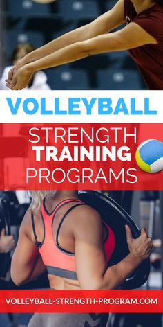 Volleyball workout program for improving strength and power for volleyball. Discover my volleyball training secrets that will get you jumping higher and hitting the ball harder. Strength training along with volleyball conditioning that builds endurance from long grueling volleyball tournaments. #volleyballworkoutprogram #volleyball Volleyball Training, Volleyball Workouts, Coaching Volleyball, Volleyball Tournaments, Bodyweight Strength Training, Strength Training Program, Strength Training Workouts, Conditioning Workouts, Plyometrics