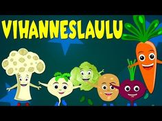 Vihanneslaulu - Lastenlauluja suomeksi - YouTube Primary Education, Early Childhood Education, Science And Nature, Kindergarten, Learning, Music, Youtube, Early Education, Musica