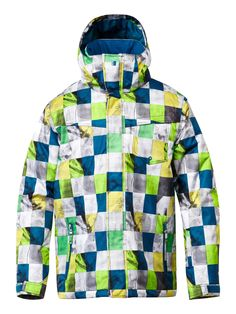f1e5e0151d55 Men s Mission Printed 10K Insulated Snow Jacket in Onstreet Diamond color.  I highly recommend this