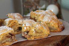 Weihnachts-Mädls-Frühstück, eine Bastelanleitung   zwei Rezepte French Toast, Breakfast, Food, Vegan Apple Cake, Craft Tutorials, Pies, Food Food, Christmas, Recipes