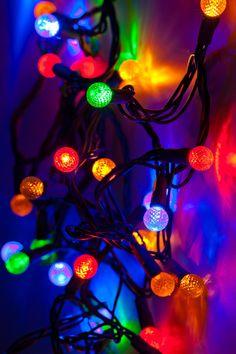 Beautiful Christmas Lights!!❄️☃