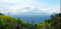 View of Catalina Island from the Preserves