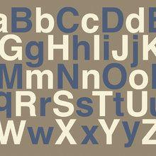 Fototapet - Alphabet