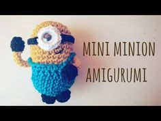 Tutorial: mini minion amigurumi - YouTube