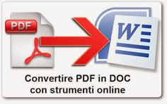 Make PDF editable by converting PDF File to Word