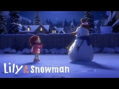 """Lily & the Snowman"" is a heartwarming animated short by Cineplex about the magic of storytelling. In the film young Lily builds a magic snowman who Christmas Music, Christmas Movies, Christmas Videos, Merry Christmas, French Songs, Films Cinema, Movie Talk, Film D'animation, Make Time"
