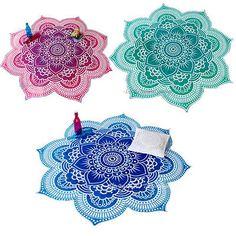 Aliexpress.com : Buy Round Indian Hippie Tapestry Beach Throw Roundie Mandala…