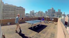 outdoor pingpong *Spencer pin