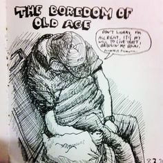 #Sobieniak #sketch #doodle #man #old