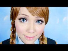 ▶ Disney's Frozen Anna Makeup Tutorial - YouTube