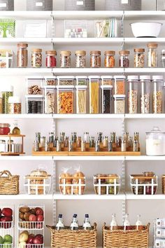 New Kitchen Pantry Storage Ideas Organisation Ideas Small Kitchen Organization, Kitchen Organization Pantry, Pantry Storage, Home Organization, Pantry Diy, Organized Pantry, Food Storage, Storage Ideas, Pantry Ideas