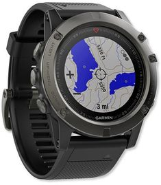 Garmin Fenix 5X Sapphire Multisport GPS Watch #ad #gps #hiking
