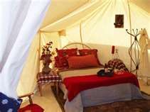 Glamping, the glamorous camping experience