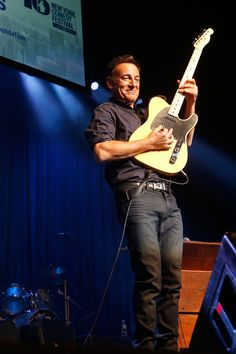 Bruce Springsteen - Inside the 'Stand Up for Heroes' Event