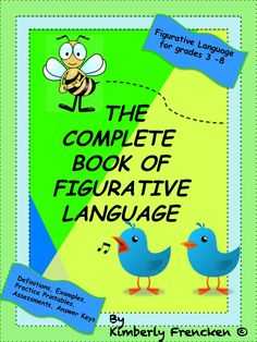 Similes to Imagery! Everything is covered in this 125 page resource. Printables, practice, games, answer keys, alternative lessons, and assessments. Everything you need to teach figurative language!