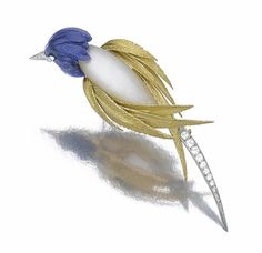 View Brooch designed as a bird by Pierre Sterlé on artnet. Browse upcoming and past auction lots by Pierre Sterlé. Butterfly Jewelry, Bird Jewelry, Animal Jewelry, Jewelry Design, Jewelry Art, Antique Jewelry, Vintage Jewelry, Diamond Brooch, Pearl Brooch