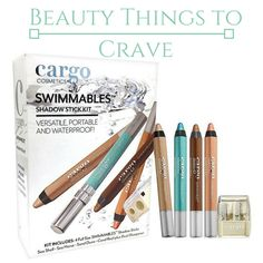 Beauty Things to Crave: Cargo Swimmables Shadow Stick Gift Kit Set