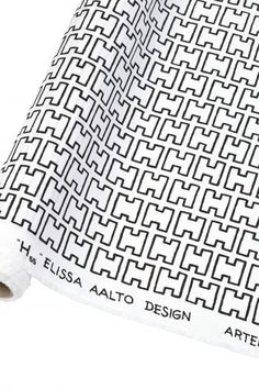 Graphic Textiles: abc Collection by Artek - Design Milk Textile Patterns, Cool Patterns, Print Patterns, Textiles, Alvar Aalto, White Books, Helsingborg, Heath Ceramics, Marimekko