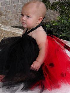 Ladybug Tutu Dress Costume.. Great Costume, Photo Prop, Party Dress or Gift