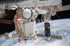 STS-132 ISS-23 Rassvet Pirs and Progress M-05M